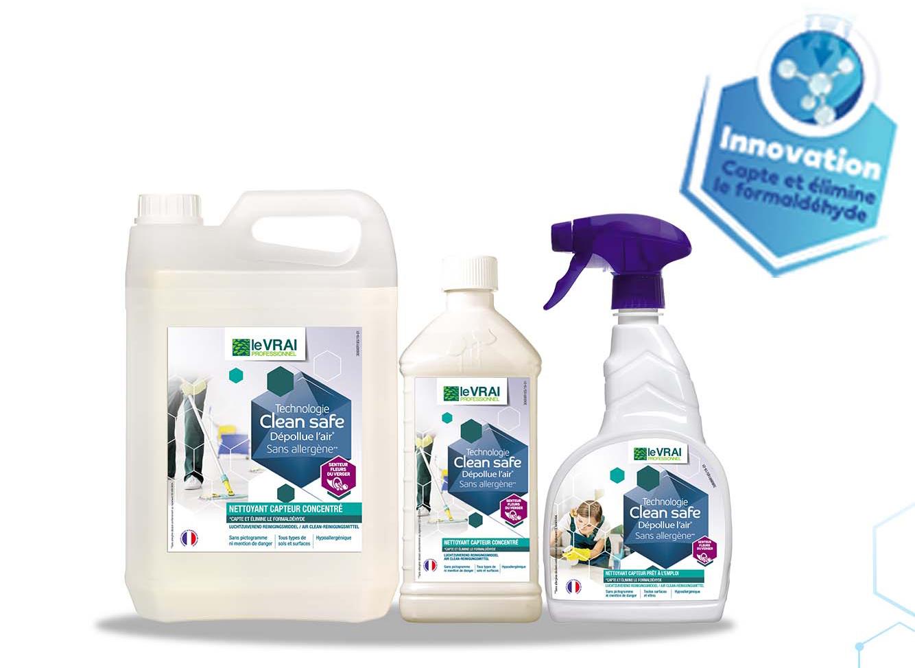 Produit Clean Safe Nettoyant Capteur