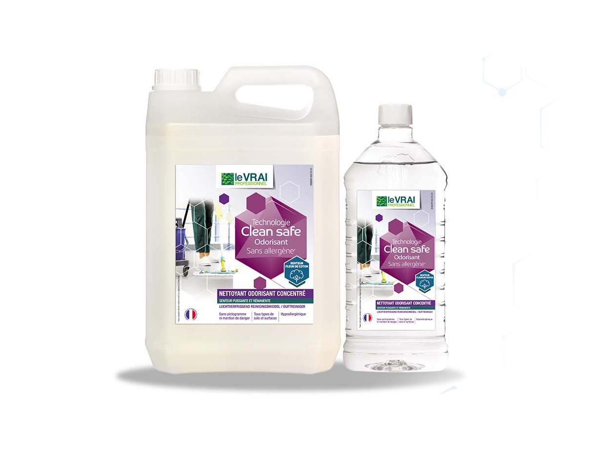 Produit Clean Safe Nettoyant Odorisant